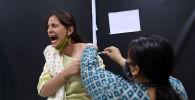 Один из кадров вакцинации в Индии
