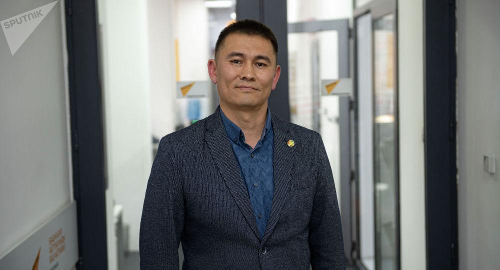 Руководитель проекта картирования решений Урмат Такиров