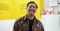 Предприниматель, общественный деятель, автор документальных фильмов о культуре и истории Бишкека Эрик Абдыкалыков