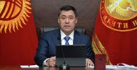 Президент Кыргызстана Садыр Жапаров