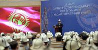 Президент Кыргызстана Садыр Жапаров. Архив