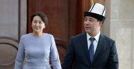 Президент Садыр Жапаров жана биринчи айым Айгүл Жапарова
