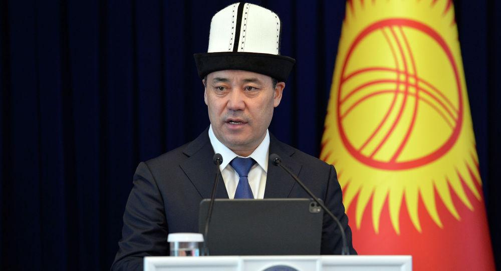 Президент Кыргызстана Садыр Жапаров. Архивное фото