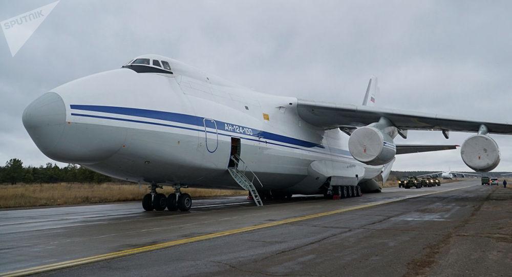Руслан Ан-124 учагы. Архивдик сүрөт
