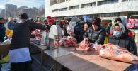 Бишкектеги азык-түлүк жарманкеси. Архив