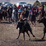 Аламан улак — одна из традиционных национальных игр, единых правил соревнований нет