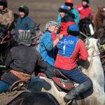 Состязание организовал известный игрок и улакчи Сейдали Келдиев