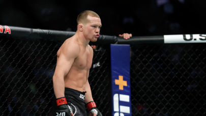Боец в легчайшем весе UFC Петр Ян. Архивное фото