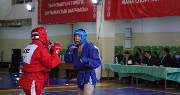 Ош шаарында самбо боюнча Кыргызстандын чемпионаты башталып, ага 400дөн ашуун спортчу катышууда
