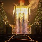Запуск ракеты-носителя Союз-2.1б с космическим аппаратом Арктика-М c космодрома Байконур. Арктика-М – первый российский спутник для мониторинга климата и окружающей среды в арктическом регионе.