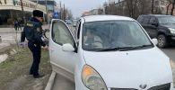 Бишкектин Кайгуул милиция кызматы айдоочу айымдарды 8-март майрамы менен куттуктады