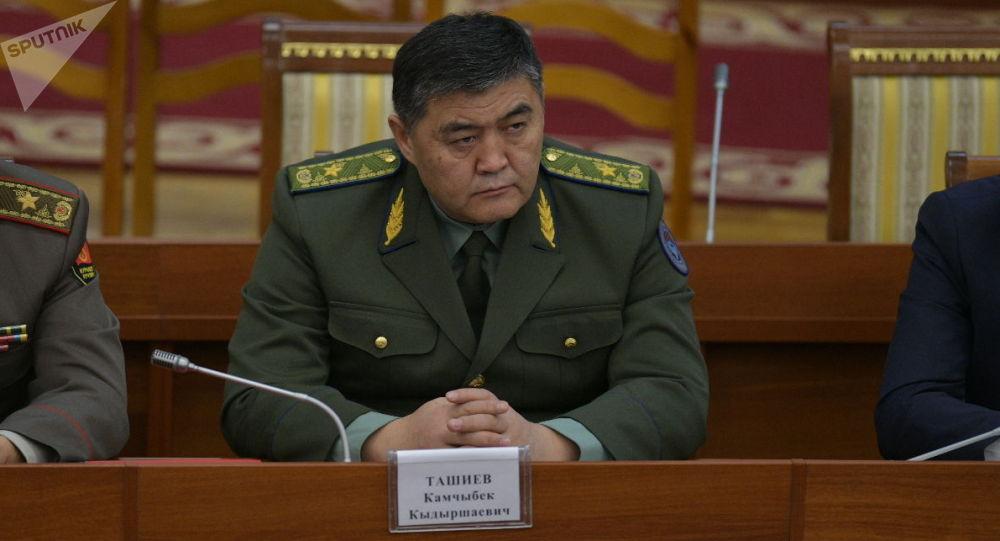 Председатель ГКНБ Камчыбек Ташиев