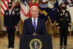 Президент США Джо Байден выступает с речью