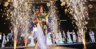 Кыргызстандын сулуу айымы — 2021 сулуулар сынагынын жеңүүчүсү Бактыгүл Маганбетова