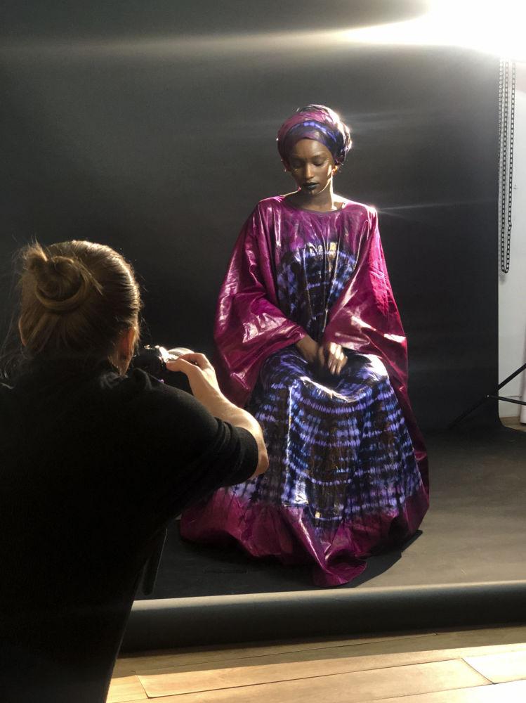 Сегодня мы вам покажем лишь некоторые из снимков проекта Национальные истоки красоты