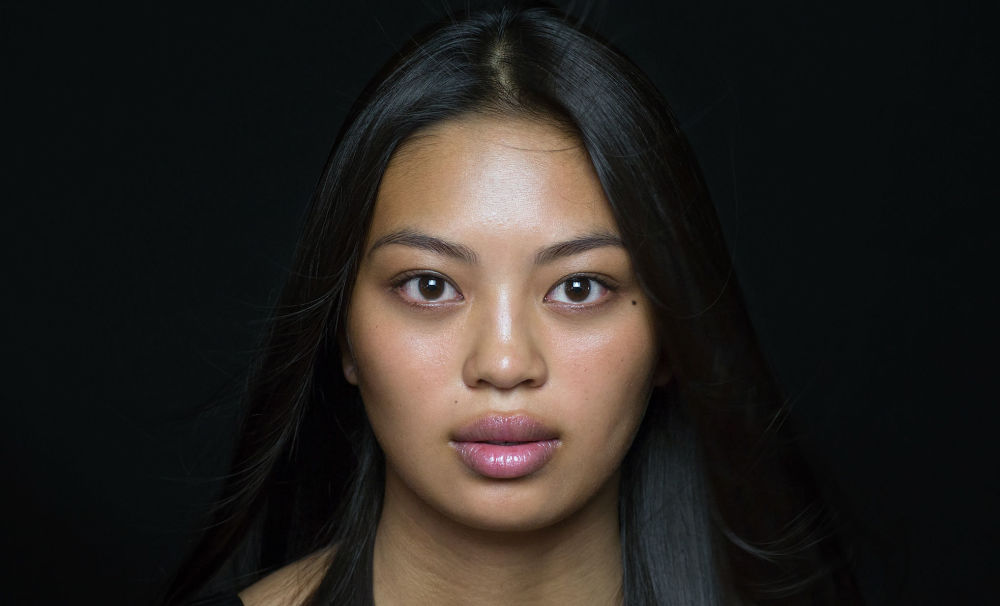 Девушка из кхмерской этнической группы