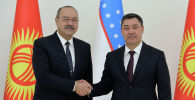 Президент Кыргызстана Садыр Жапаров в рамках государственного визита в Узбекистан встретился с премьер-министром страны Абдуллой Ариповым