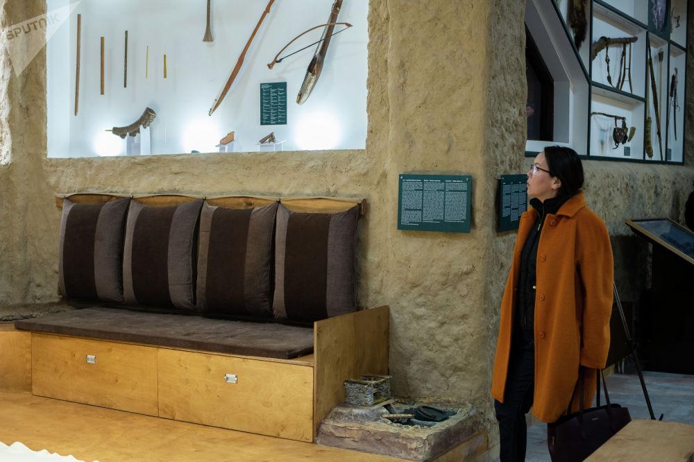 Музей 16 бөлүктөн турат. Алардын бири Табылды Эгембердиевдин бейнесине арналган