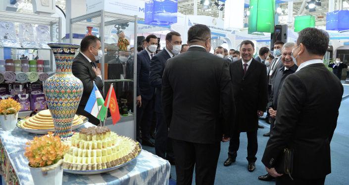 Президенты КР и РУз Садыр Жапаров и Шавкат Мирзиёев посетили инновационный технопарк Яшнабад в Ташкенте