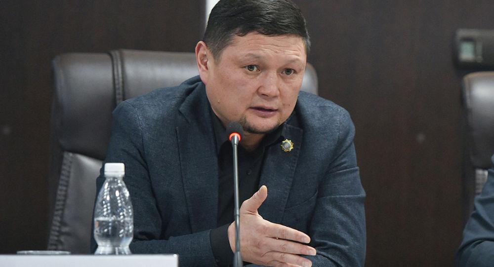 Ысык-Көл облусунун прокурору болуп дайындалган Сыймык Жапыкеев. Архив