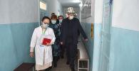 Премьер-министр Кыргызской Республики Улукбек Марипов ознакомился с деятельностью детского психоневрологического дома-интернат в Джалал-Абаде.