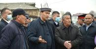 Премьер-министр Кыргызской Республики Улукбек Марипов в ходе рабочей поездки в Ошскую область ознакомился с проблемами жителей Араванского района.