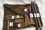 В Базар-Коргонском районе Джалал-Абадской области обнаружен схрон оружия и боеприпасов