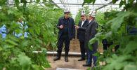 Премьер-министр Улукбек Марипов Оштун Араван районунун фермерлери менен жолугушуу учурунда