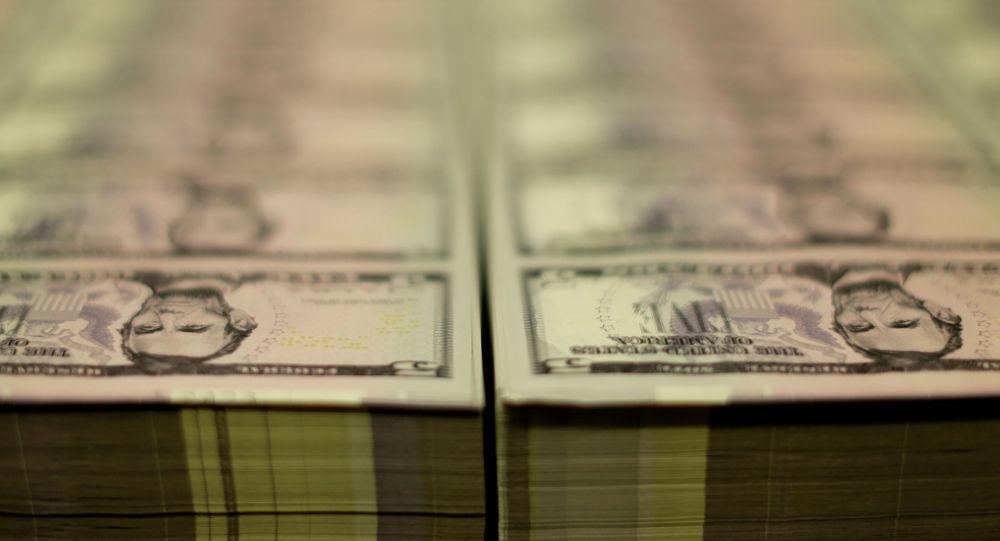 Доллар купюралары. Архивдик сүрөт
