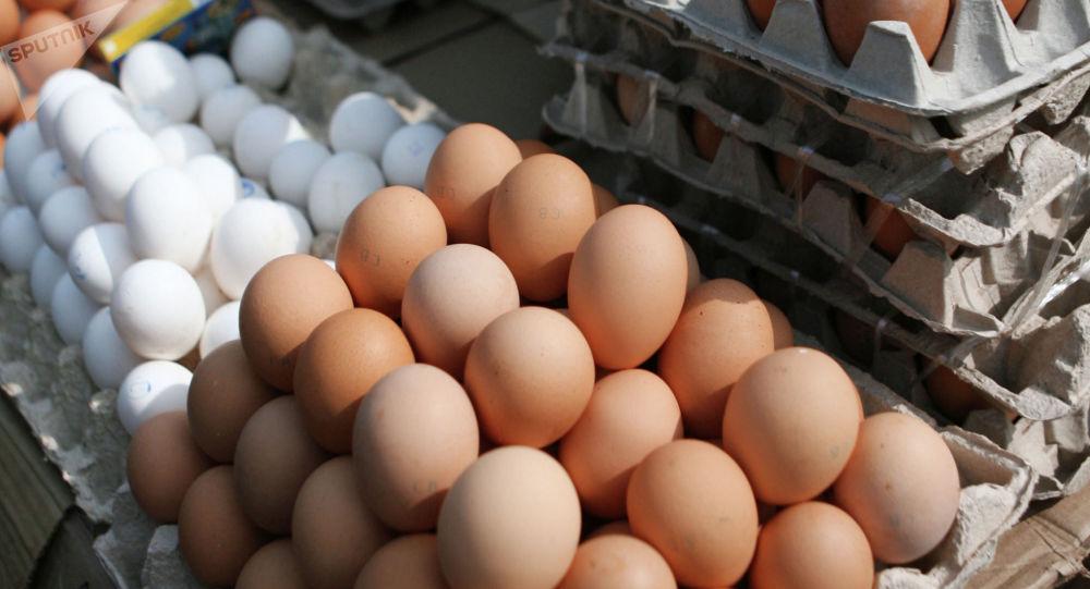 Куриные яйца. Архивное фото