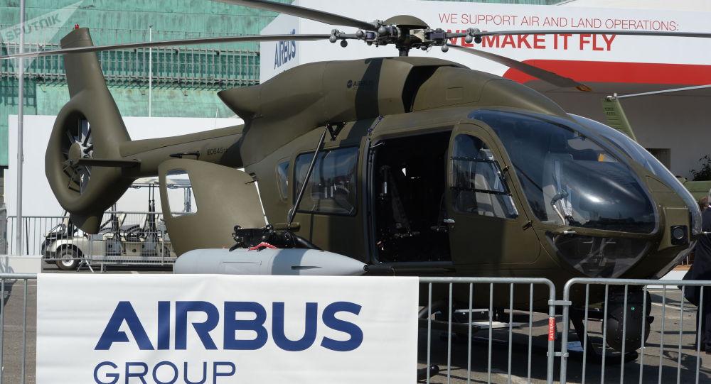 Вертолет компании Airbus. Архивное фото