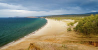 Вид на пляж. Архивное фото