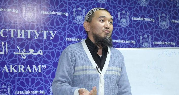 Кандидат в Муфтии Кыргызстана Нурбек Токтогулов. Архивное фото