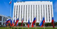 Здание посольства России в Вашингтоне. Архивное фото