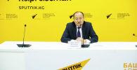Министр здравоохранения и социального развития Алымкадыр Бейшеналиев