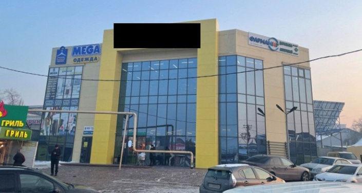 Здание которое, по версии следствия, может принадлежать депутату Жогорку Кенеша Марату Аманкулову