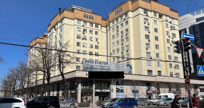 Элитный дом которое, по версии следствия, может принадлежать депутату Жогорку Кенеша Марату Аманкулову
