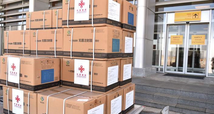 150 тысяч доз китайской вакцины от COVID-19 SinoPfarm переданные Кыргызстану