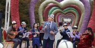 В Ошском парке Мээрим ОшГУ организовал масштабные мероприятия к народному празднику «Нооруз»