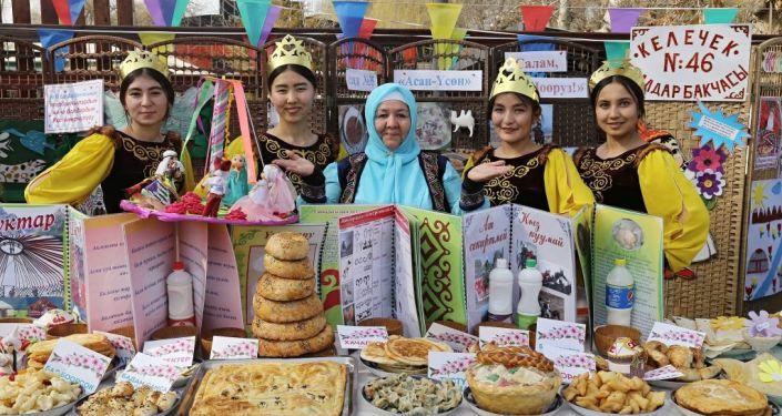 Во всех МТУ города Ош прошли праздничные мероприятия к народному празднику Нооруз-2021