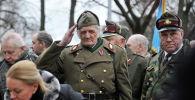 Ригада Латыш СС легионерлеринин жүрүшү. Архивдик сүрөт