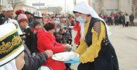 Нарын шаарында Нооруз майрамы салтанаттуу белгиленди.