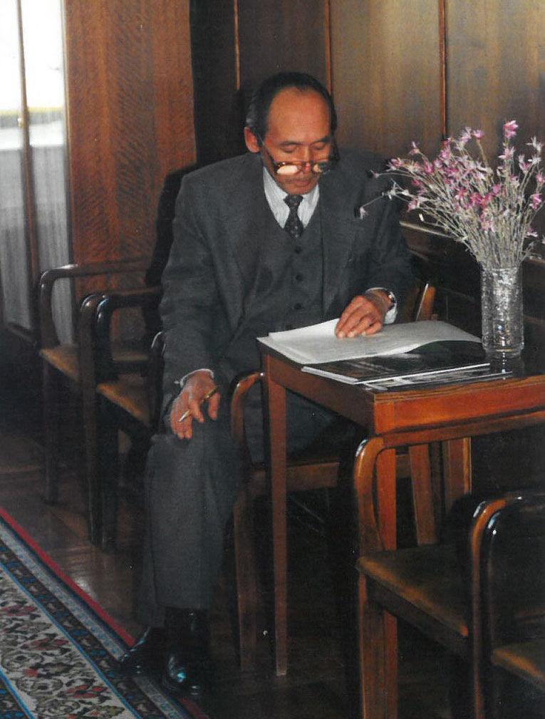 Государственный деятель, автор словаря Кыргыз макал-лакаптары Мусин Орозбаев