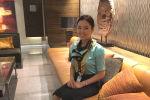Kuwait Airways улуттук авиакомпаниясында стюардесса болуп эмгектенген Мээрим Калкаманова