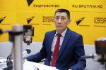 Заместитель директора Государственного агентства по делам молодежи, физической культуры и спорта Канатбек Арпачиев
