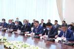 Ташкент шаарында кыргыз-өзбек мамлекеттик чек арасын делимитациялоо жана демаркациялоо боюнча өкмөттүк делегациялардын сүйлөшүүсү