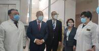 Официальный визит в КР директора Европейского бюро ВОЗ Ханса Клюге