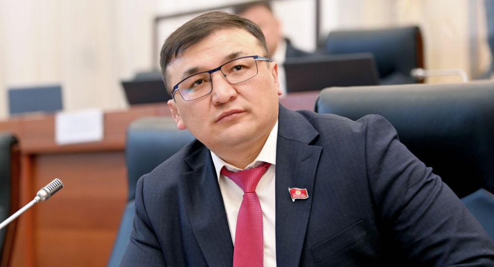 Жогорку Кеңештин депутаты Акыл Кемелов. Архивдик сүрөт