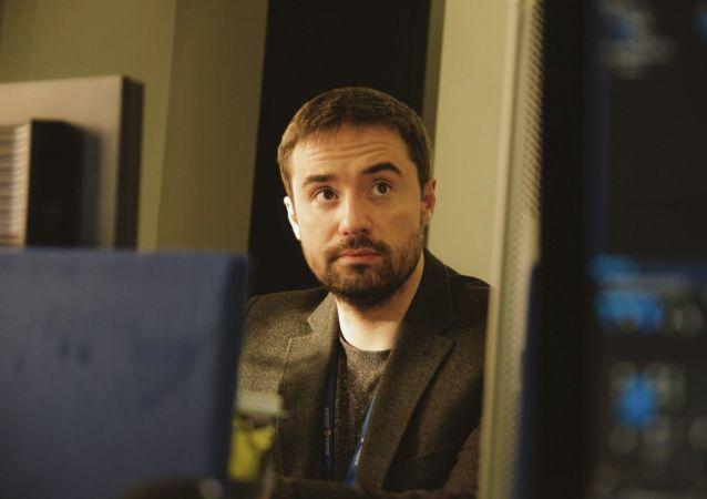 Шеф-редактор отдела соцсетей интернет-издания Украина.ру Александр Фомин. Архивное фото