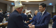 Премьер-министр Улукбек Марипов кыргыз диаспорасынын өкүлдөрү менен Ташкент шаарында жолугушу